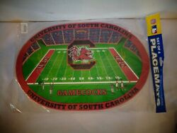 Licensed College University Of South Carolina Gamecocks Placemats 4 Pack