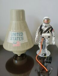 Vintage 1966 Gi Joe Official Space Capsule With Astronaut And Suit