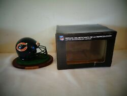 The Memory Company Nfl Chicago Bears Limited Edition Mini Helmet Riddell