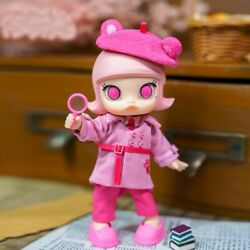 Pop Mart Molly X Pink Panther Bjd Toy Doll 5.5 Inch Gift For Kid - Free Shipping