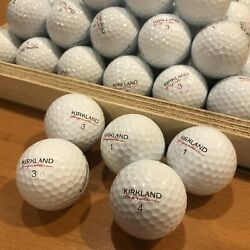 100 Kirkland Signature Performance+ In 5a Mint Condition Used Golf Balls