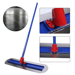 Us Stainless Steel Trowel Bull Float Concrete Kit With Small Trowel 1.8m Handle