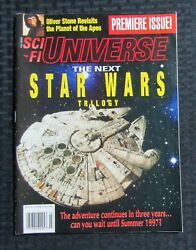 1994 July Sci Fi Universe Magazine 1 Fn 6.0 Star Wars / Planet Of The Apes