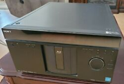 Sony Bdp-cx960 400 Disc Blu-ray Dvd Player For Parts Works Read Description