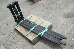 Block Fork Tines 4 By Bradco Will Fit Most Pallet Fork Frames Tines Only