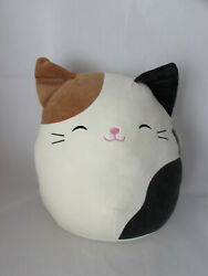 Kellytoy Squishmallow Cam Cameron The Calico Kitty Cat 16 Soft Plush Pillow Toy