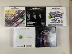 The Beatles Limited Edition Collectible Album Box Complete Set Of 5 Sealed