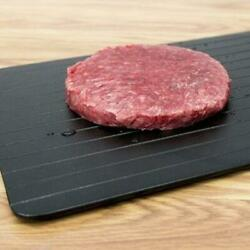 As Seen On Tv Black Wonder Quick Defrosting Tray - Large