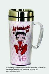 Spoontiques Betty Boop All This And Brains Too Insulated Travel Mug, 14 Ounces,