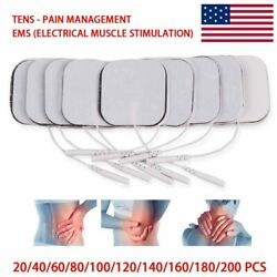 Muscle Stimulator Electrode-pads Replacement-pads Therapy-machine Tens Adhesive