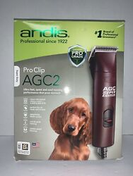 Andis Agc2 Super 2-speed Animal Dog Clipper Clippers Model 22360