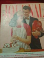 1958 Ladies Home Journal Magazine February Tennessee Postmark Great Colors And Ads