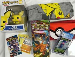 Pokemon Cards Lot , Funko Pop, Vintage Shirts, Graded Card Holiday Or Bday Gift