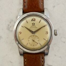 C.1954 Vintage Omega Seamaster Automatic Watch Ref. 2576-8 Cal. Ω 351 In Steel