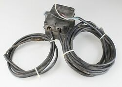 Johnson Evinrude Omc Junction Box 20and039 Harness And 5-1/2and039 Battery Cables Oem