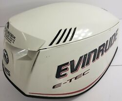 285629 Evinrude Johnson 2007-2008 Etec Engine Cover Cowling Hood 115 Hp