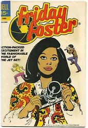Friday Foster #1 1972 RARE KEY COMIC ONE OF FIRST BLACK WOMEN IN COMICS