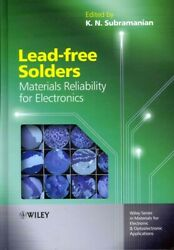 Lead-free Solders Materials Reliability For Electronics, Hardcover By Subra...