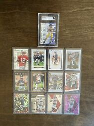 Tom Brady Rookie Cards, 13 Card Lot, The Goat, Mint And Gm Ranges