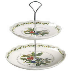 Portmeirion The Holly And The Ivy 2 Tier Serving Tray 9433672