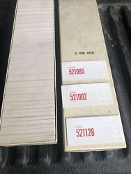 1950s Chevy Gm Dealership Parts Number Tags Inbox New Old Stock