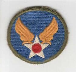 Ww 2 Army Air Force Headquarters Od Border Ribbed Weave Patch Inv P140
