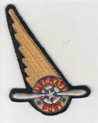 Pre Ww 2 Us Army Air Force Aircraft Post Mail Delivery Patch Inv H778