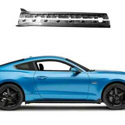 For Ford Mustang 2015-2021 Gt350 Dry Carbon Fiber Side Skirts Extension Spoiler