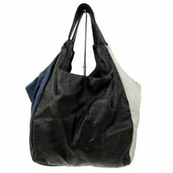 Secondhand Tricocom Des Garandccedilons Tricot Comme Garcons Tote Bag Synthetic Leather