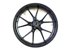 Fits For Ktm Rc 390 Racing Bike Front And Rear Wheel Rim Black 2013 To 2016