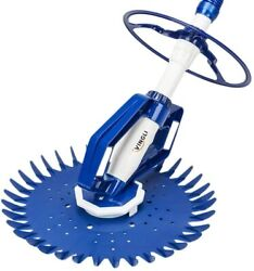 Vingli Pool Vacuum Above Ground Indoor Outdoor Automatic Swimming Cleaner Sweep