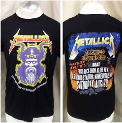 2016 Metallica Us Bank Sold Out Stadium Tour Small First Rock Show Sold Out
