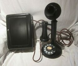 Western Electric 50AL Dial Candlestick e w Metal Subset.
