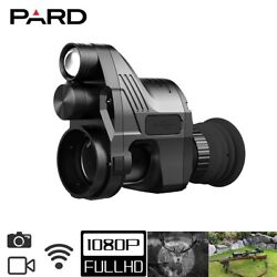 Pard Nv007a Night Vision Rifle Scope Clip On Attachment Monocular Hunting Camera