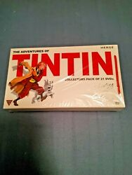 The Adventures Of Tintin - Complete Series - All 39 Episodes - 21 Disc Set New