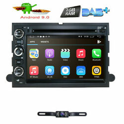 7 Android Car Radio Navigation Stereo Dvd Gps For Ford F150 2005-2008+hd Camera