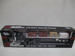 Die-cast Promotions Maritime Building Products Tractor Trailer 1/64