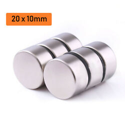 20x10mm Super Strong Round Disc Magnets Rare-earth Neodymium Magnet 10/50/100pcs