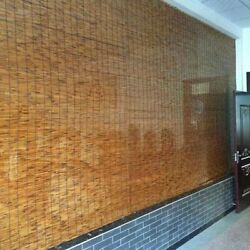 Reed Curtain Waterproof Outdoor Bamboo Blinds Interior Decoration