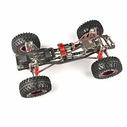 Axial Car 4wd 1/10 Scale Rc Rock Crawler Carbon Fiber Chassis+body Shell Kit