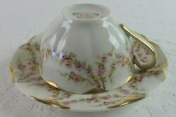 Theodore Haviland Varenne Tea Cup + Saucer New York Made In America