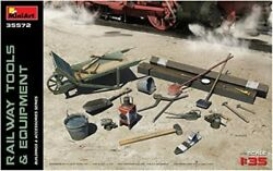 Mini Art 1/35 Railroad Laying Tools And Equipment Sleepers Scoop Wrench, Etc. P