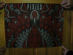 Pixies Poster The July 24 2018 Raleigh North Carolina Concert Poster