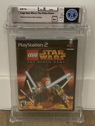 2005 Lego Star Wars Sony Playstation 2 Sealed White Label Wata 9.6 Seal A+ Ps2