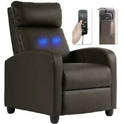 Recliner Chair For Living Room Massage Recliner Sofa Single Sofa Home Theater Se