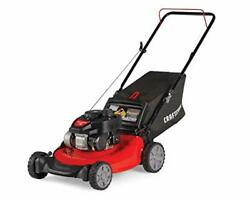 Craftsman M105 140cc Gas Powered Push 21-inch 3-in-1 Lawn Mower With Bagger, 1-i