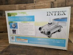 Intex 28001e Above Ground Swimming Pool Automatic Vacuum Cleaner W/ 1.5 Fitting