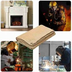 Outdoor Camping Fireproof Cloth Heat Insulation Pad Fire Blanket Bbq Camp Mat
