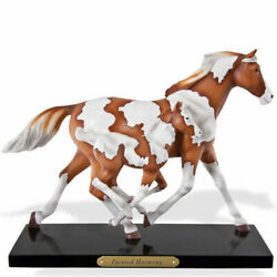 New In Box Trail Painted Ponies 4034627 Painted Harmony Resin Horse Figurine