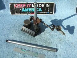 Surface Gage Black No2 Toolmaker Made Inspection Tool Hermann Schmidts Here Also